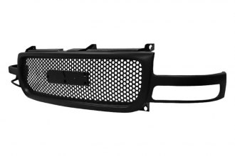 Spec-D® - Black Punch Hole Grille