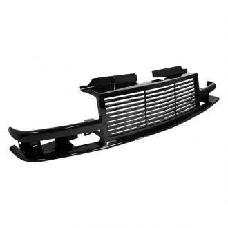 Spec-D® - Horizontal Style Black Billet Main Grille
