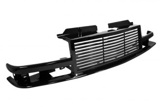 Spec-D® - Horizontal Style Black Billet Grille