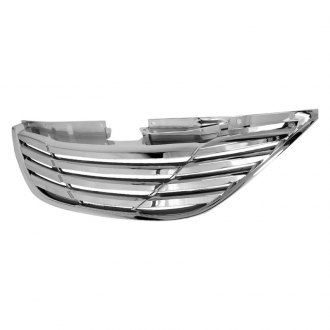 Spec-D® - Horizontal Style Chrome Main Grille