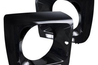 Spec-D® - Black Headlight Frame