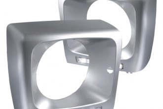 Spec-D® - Silver Headlight Frame