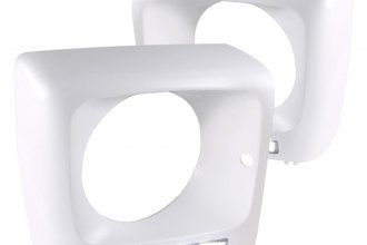 Spec-D® - White Headlight Frame