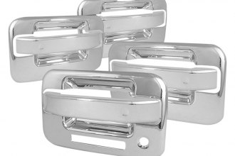 Spec-D® - Chrome Door Handle Covers with Keyhole