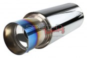 Spec-D® - Apexi N1 High Quality Muffler with Burnt Tip