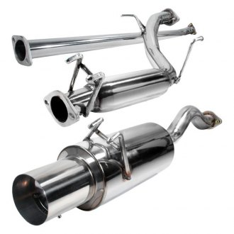 Spec-D® - N1 Style™ 304 SS Cat-Back Exhaust System