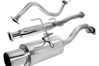 "Spec-D® MFCAT2-CV92 - N1 Style Cat-Back Exhaust System (2.5"" Inlet)"