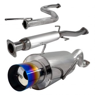 "Spec-D® MFCAT2-INT94T-SD - N1 Style Cat-Back Exhaust System with Burnt Tip (2.5"" Inlet)"