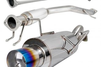"Spec-D® MFCAT2-RSX02T-SD - N1 Style Cat-Back Exhaust System with Burnt Tip (2.5"" Inlet)"