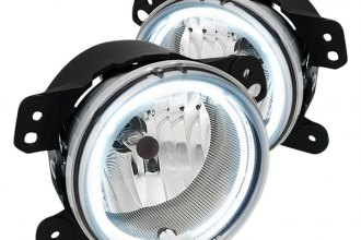 Spec-D® - Chrome OEM Style CCFL Halo Fog Lights