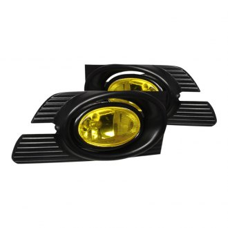 Spec-D® - Yellow OEM Style Fog Lights with Wiring Kit