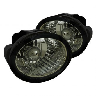 Spec-D® - Smoke OEM Style Fog Lights with Wiring Kit