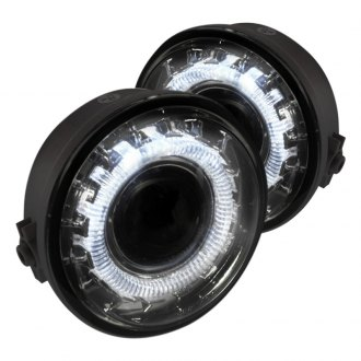 Spec-D® - Chrome Halo Projector Fog Lights without Wiring Kit