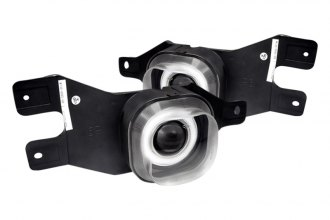 Spec-D® - Chrome Halo Projector Fog Lights