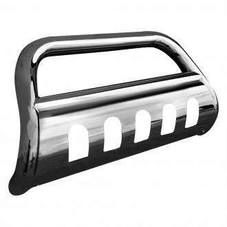 "Spec-D® - 3"" Polished Bull Bar with Skid Plate"