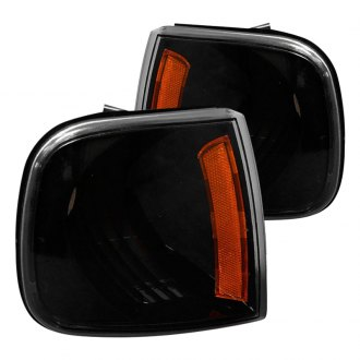 Spec-D® - Black Crystal Turn Signal / Corner Lights