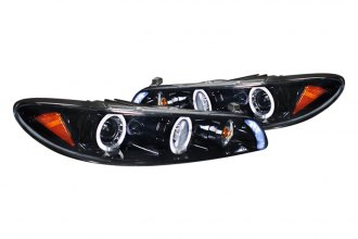 Spec-D® - Gloss Black Halo Projector Headlights