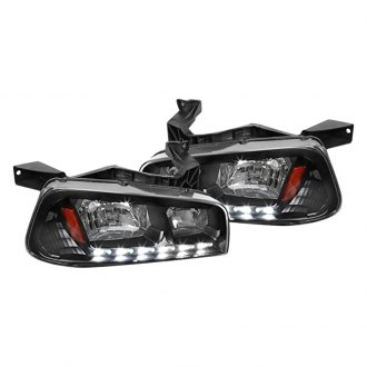 Spec-D® - Black Euro Headlight