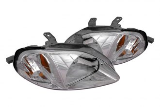 Spec-D® - Chrome Euro Headlights