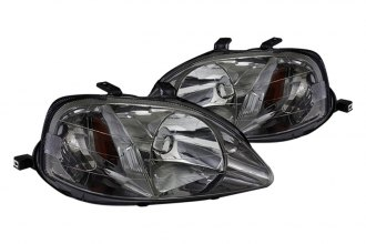 Spec-D® - Smoke Euro Headlights G2