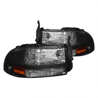 Spec-D® - Black Euro Headlights