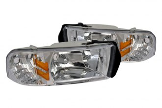 Spec-D® 2LH-RAM94-ABM - Chrome Euro Headlights
