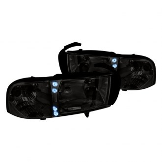 Spec-D® - Chrome/Smoke LED Euro Headlights