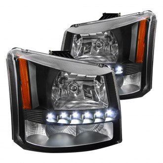 2004 chevy avalanche custom euro headlights. Black Bedroom Furniture Sets. Home Design Ideas