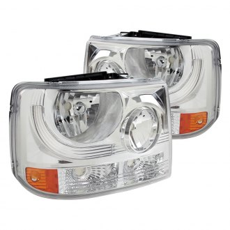Spec-D® - Driver and Passenger Side Chrome Conversion Euro Headlights
