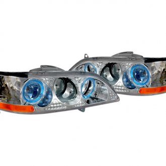 Spec-D® - Chrome Projector Halo Headlights