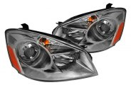Spec-D® - Smoke Projector Headlights with Amber Reflectors