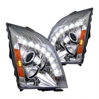 Spec-D® - Chrome Projector LED Headlights with DRL