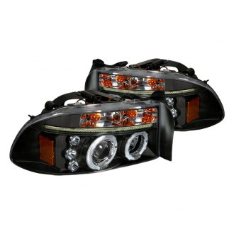 SPEC-D� - Black Dual Halo Projector Headlights with LEDs