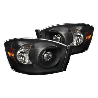 2007 dodge ram custom projector headlights. Black Bedroom Furniture Sets. Home Design Ideas