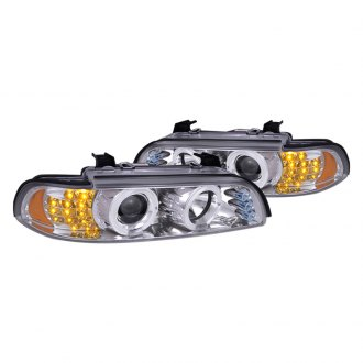Spec-D® - Chrome Dual Halo Projector Headlights with R8 LED Style G2