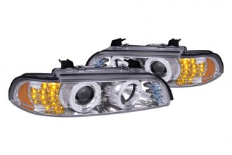 Spec-D® - Chrome Dual Halo Projector Headlights with R8 LED Style Ver. 2
