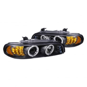 Spec-D® - Smoke Halo Projector Headlights with LEDs G2