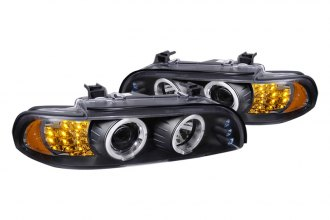 Spec-D® - Smoke Halo Projector Headlights with LEDs Ver.2