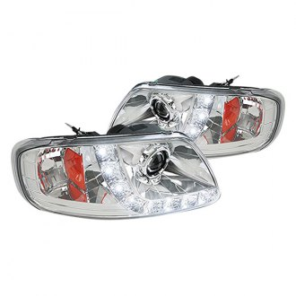 Spec-D® - Chrome Projector LED Headlights