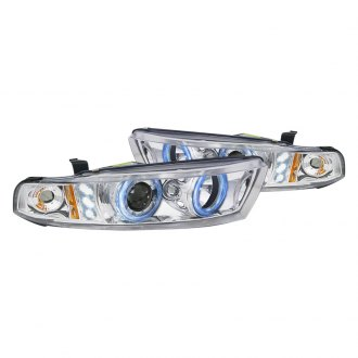 Spec-D® - Chrome Halo Projector Headlights