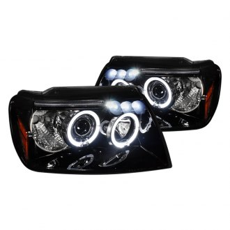 SPEC-D� - Smoke Dual Halo Projector Headlights with LEDs