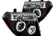 Spec-D� - Black Halo Projector Headlights with LEDs