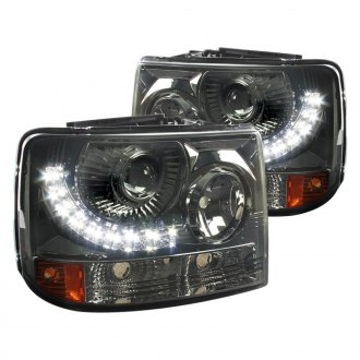 Spec-D® - Black Conversion Projector Headlights with LEDs