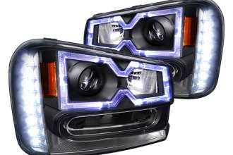 Spec-D® - Black Halo Projector Headlights