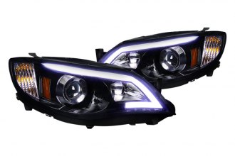 Spec-D® - Gloss Black Projector Headlights with LEDs