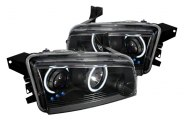 Spec-D® 3LHP-CHG05JM-KS - Black CCFL Halo Projector Headlights with LEDs
