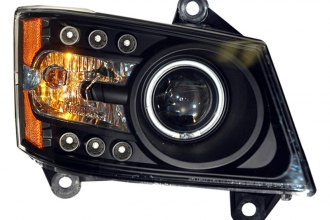 Spec-D® 4LHP-CAL06G2JM-KS - Black CCFL Halo Projector Headlights with LEDs