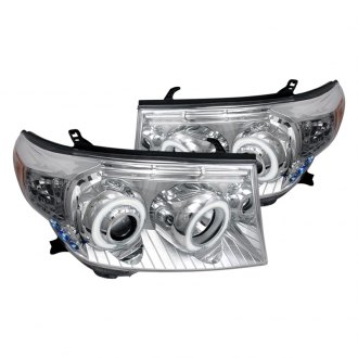 Spec-D® - Chrome CCFL Halo Projector LED Headlights