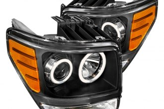 Spec-D® - Black CCFL Halo Projector Headlights