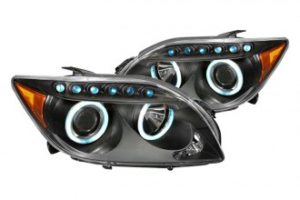 Spec-D® 4LHP-TC05JM-KS - Black CCFL Halo Projector Headlights with LEDs